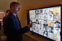 Lambert WILSON - Vernissage de l'exposition Goscinny - La Cinematheque francaise 02 octobre 2017 - Paris - France