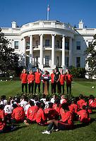 White House Soccer Clinic October 06 2011