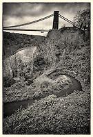 View of Clifton Suspension Bridge, Bristol.