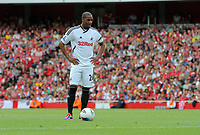 Pictured: Kemy Agustien of Swansea City in action. Saturday 10 September 2011<br /> Re: Premiership Arsenal v Swansea City FC at the Emirates Stadium, London.