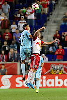 Harrison, NJ - Thursday Sept. 15, 2016: Isaac Portillo Molina during a CONCACAF Champions League match between the New York Red Bulls and Alianza FC at Red Bull Arena.