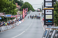 Finish. Upcoming Sprint. <br /> <br /> <br /> 71th Halle Ingooigem 2018 (1.1)<br /> 1 Day Race: Halle > Ingooigem (197.7km)