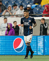FOXBOROUGH, MA - JULY 17: Gustavo Bao #7 during a game between Vancouver Whitecaps and New England Revolution at Gillette Stadium on July 17, 2019 in Foxborough, Massachusetts.