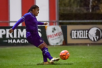 Anderlecht forward Mariam Toloba (19) pictured during a female soccer game between RSC Anderlecht Dames and AA Gent Ladies on the seventh matchday of the 2020 - 2021 season of Belgian Womens Super League , friday 13 th of November 2020  in Overijse , Belgium . PHOTO SPORTPIX.BE | SPP | STIJN AUDOOREN