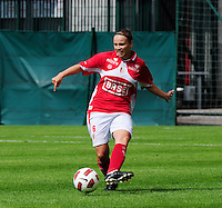 Supercup seizoen 2011 - 2012 ; Kampioen Standard Femina tegen Bekerwinnaar Waasland Beveren Sinaai Girls : Riete Loos.foto DAVID CATRY / Vrouwenteam.be