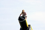 WOMAN ENTERS CANNON AT INDIANNAPOLIS AIR SHOW