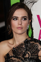 """LOS ANGELES, CA - FEBRUARY 04: Zoey Deutch at the Los Angeles Premiere Of The Weinstein Company's """"Vampire Academy"""" held at Regal Cinemas L.A. Live on February 4, 2014 in Los Angeles, California. (Photo by Xavier Collin/Celebrity Monitor)"""