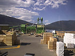 Softwood lumber mill, Merritt, British Columbia, Canada