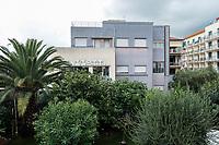 Mazzotti ceramic factory, example of futuristic building 1930's