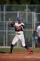 Zion Rose (2) during the WWBA World Championship at Terry Park on October 11, 2020 in Fort Myers, Florida.  Zion Rose, a resident of Chicago, Illinois who attends Brother Rice High School, is committed to Louisville.  (Mike Janes/Four Seam Images)