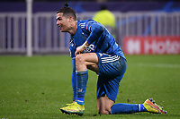 Cristiano Ronaldo of Juventus dejection <br /> Lyon 26/02/2020 OL Stadium Decines <br /> Football Champions League 2019//2020 <br /> Round of 16 1st Leg <br /> Olympique Lionnais Lyon - Juventus <br /> Photo Federico Tardito / Insidefoto