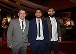 Wales Sport Awards 2013<br /> Leigh Williams, Nazrul Aslam & Enam Hoque.<br /> 09.11.13<br /> ©Steve Pope-SPORTINGWALES