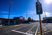 Johnsonville Mall and main street at midday Wednesday during lockdown for the COVID19 pandemic in Wellington, New Zealand on Wednesday, 15 April 2020. Photo: Dave Lintott / lintottphoto.co.nz