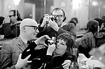Unknown Surname ( I think he was the chief sub on the magazine) Patricia Elkins and Bob McFarlane (taking photo of me ) Weekend Telegraph Magazine lunch March 1972