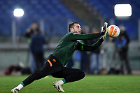 Pau Lopez of AS Roma warms up prior to the Europa League Group Stage A football match between AS Roma and CSKA Sofia at stadio olimpico in Roma (Italy), October, 29th, 2020. Photo Andrea Staccioli / Insidefoto