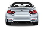 Straight rear view of a 2018 BMW M4 Base 2 Door Coupe stock images
