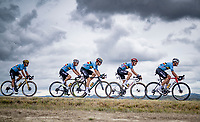 'The Blue Train'  / Team Belgium riding full force in favor of Wout van Aert (BEL/Jumbo - Visma)<br /> <br /> Men's Elite Road Race from Imola to Imola (258km)<br /> <br /> 87th UCI Road World Championships 2020 - ITT (WC)<br /> <br /> ©kramon