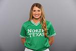 DENTON TX JANUARY 10:University of North Texas Softball team head shots and marketing photos at Apogee Stadium in Denton, TX on January 10, 2020.