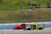 NASCAR Camping World Truck Series<br /> UNOH 175 <br /> New Hampshire Motor Speedway<br /> Loudon, NH USA<br /> Saturday 23 September 2017<br /> Grant Enfinger, Ride TV Toyota Tundra and Matt Crafton, Great Lakes Floors/Menards Toyota Tundra<br /> World Copyright: Nigel Kinrade<br /> LAT Images