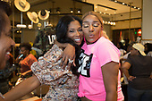 OXON HILL, MARYLAND - MAY 25: Jennifer Williams and NeNe Leakes visit Swagg Boutique at MGM National Harbor on May 25, 2019 in Oxon Hill, Maryland. (Photo by Brian Stukes/ON-SITEFOTOS)