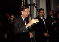 Le premier Ministre Robert Bourassa<br />  en 1992 (date inconnue)<br /> <br /> Photo:  Agence Quebec Presse