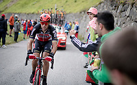 Philippe Gilbert (BEL/Lotto-Soudal) in the final kilometers up the final climb of the day; the Col du Portet (HC/2215m)<br /> <br /> Stage 17 from Muret to Saint-Lary-Soulan (Col du Portet)(178km)<br /> 108th Tour de France 2021 (2.UWT)<br /> <br /> ©kramon