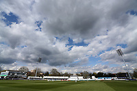 General view of play during Essex CCC vs Worcestershire CCC, LV Insurance County Championship Group 1 Cricket at The Cloudfm County Ground on 9th April 2021