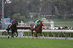 April 11, 2010.Unzip Me riden by Joseph Talamo, wins The Las Cienegas Handicap at Santa Anita Park, Arcadia, CA