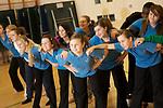 Cheerleading Dance Class
