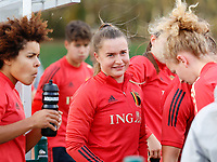 20201021 - TUBIZE , Belgium : Davinia VanMechelen pictured during a training session of the Belgian Women's National Team, Red Flames , on the 21st of October 2020 at Proximus Basecamp in Tubize. PHOTO: SPP | SPORTPIX.BE | SEVIL OKTEM