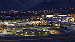 Carson campus - night lights