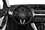 Car pictures of steering wheel view of a 2017 Mazda Mazda6 Prestige Edition 4 Door Sedan