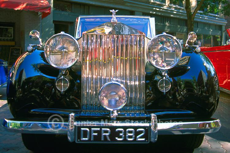 An Antique Rolls Royce Car
