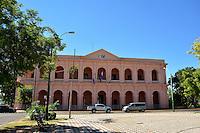 ASUNCION - PARAGUAY: Museo del Cabildo en Asuncion, Paraguay. Museum of the Cabildo in Asuncion, Paraguay. (Photo:  VizzorImage / Cont.)............