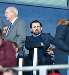 Paul Hartley in the stand