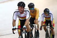 Nicholas Kergozou competes in the Men Elite Omnium Points Race 25km during the 2020 Vantage Elite and U19 Track Cycling National Championships at the Avantidrome in Cambridge, New Zealand on Saturday, 25 January 2020. ( Mandatory Photo Credit: Dianne Manson )