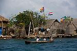 Archipielago de San Blas. Homeland of the Kuna people