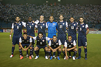 The United States Men's National Team starting  lineup before they  played Guatemala at Estadio Mateo Flores in Guatemala City, Guatemala in a World Cup Qualifier on Tue. June 12, 2012.