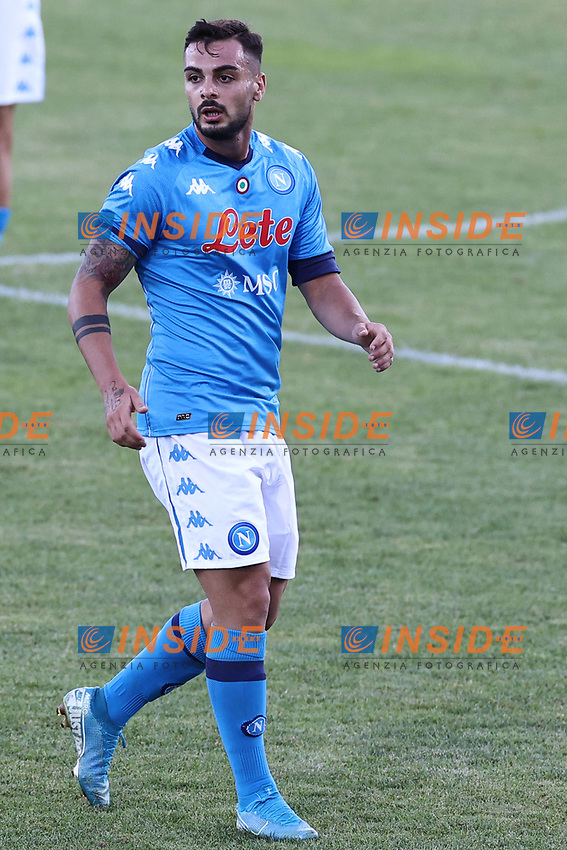 Gennaro Tutino of SSC Napoli<br /> during the friendly football match between SSC Napoli and SS Teramo Calcio 1913 at stadio Patini in Castel di Sangro, Italy, September 04, 2020. <br /> Photo Cesare Purini / Insidefoto