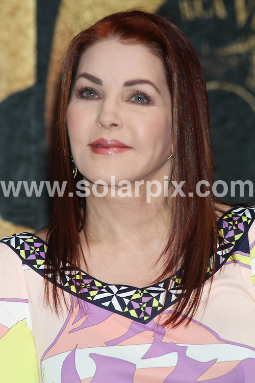 """**ALL ROUND PICTURES FROM SOLARPIX.COM**.**SYNDICATION RIGHTS FOR UK, AUSTRALIA, DENMARK, PORTUGAL, S. AFRICA, SPAIN & DUBAI (U.A.E) ONLY**.Priscilla Presley attends Cirque Du Soleil's """"Viva Elvis"""" News Conference and Performance Preview at the Viva Elvis Theater at the Aria Resort & Casino, Las Vegas, NV, USA. 15 December 2009..This pic: Priscilla Presley..JOB REF: 10411 PHZ PRN   DATE: 15_12_2009.**MUST CREDIT SOLARPIX.COM OR DOUBLE FEE WILL BE CHARGED**.**MUST NOTIFY SOLARPIX OF ONLINE USAGE**.**CALL US ON: +34 952 811 768 or LOW RATE FROM UK 0844 617 7637**"""