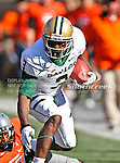 Baylor Bears wide receiver Lanear Sampson (3) in action during the game between the Baylor Bears and the Oklahoma State Cowboys at the Boone Pickens Stadium in Stillwater, OK. Oklahoma State defeats Baylor 59 to 24.