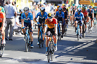 4th September 2020; Millau to Lavaur, France. Tour de France cycling tour, stage 7;  Bahrain - Mclaren Landa Meana, Mikel Lavaur