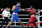 Glasgow 2014 Commonwealth Games<br /> Nathan Thorley v Yakita Aska<br /> Men's Light Heavy (81kg)<br /> SECC<br /> 29.07.14<br /> ©Steve Pope-SPORTINGWALES