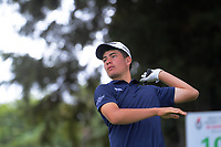 Jayden Ford. Day two of the Jennian Homes Charles Tour / Brian Green Property Group New Zealand Super 6's at Manawatu Golf Club in Palmerston North, New Zealand on Friday, 6 March 2020. Photo: Dave Lintott / lintottphoto.co.nz