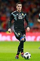 Argentina's Fabricio Bustos during international friendly match. March 27,2018.(ALTERPHOTOS/Acero) /NortePhoto.com NORTEPHOTOMEXICO
