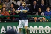 ABN AMRO World Tennis Tournament, Rotterdam, The Netherlands, 14 februari, 2017, Martin Klizan (SVK)<br /> Photo: Henk Koster