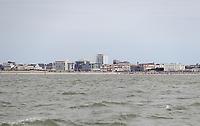 Blick auf Norderney - Norddeich 23.07.2020: Fahrt mit der Nordmeer zu den Seehundbänken