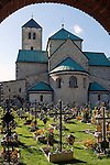 Italy, South Tyrol, Alto Adige, Dolomites, Val Pusteria, San Candido: Collegiate church, romanic