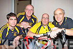 Currow Cycling Club members l-r: Adrian Shanahan, Mike Fleming, Tom Kenny and Dave Fleming who are preparing for a charity cycle in France ......