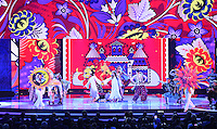 25.07.2015. St Petersburg, Russia.  Dancers perform during the Preliminary Draw of the FIFA World Cup 2018 in St. Petersburg, Russia, 25 July 2015. St. Petersburg is one of the host cities of the FIFA World Cup 2018 in Russia which will take place from 14 June until 15 July 2018.